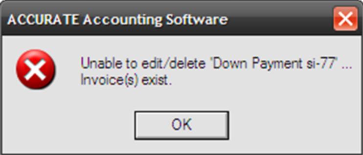 error unable edit/delete
